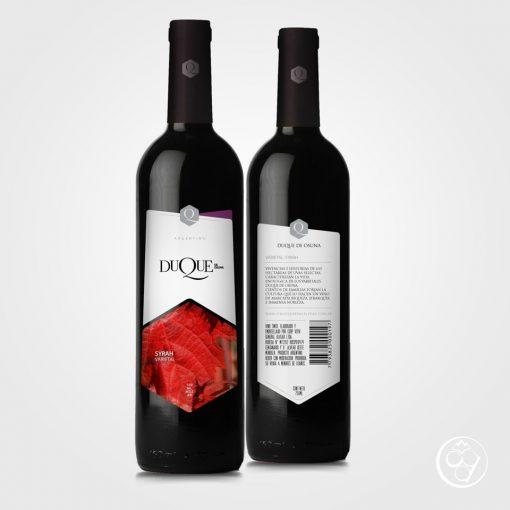 Vino Varietal de Mendoza Syrah Duque de Osuna
