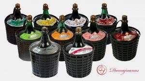 vino en damajuanas de bodera regional general alvear mendoza