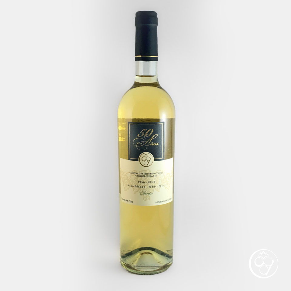 Botella de vino Chenin 50 años