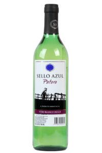 vino blanco dulce patero sello azul