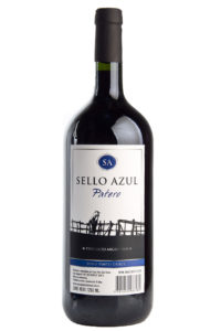 vino tinto dulce patero sello azul 1250